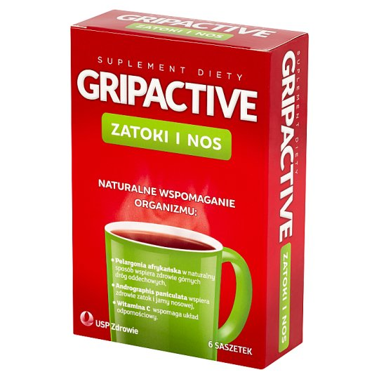 Gripactive Sinus and Nose Dietary Supplement 6 Sachets
