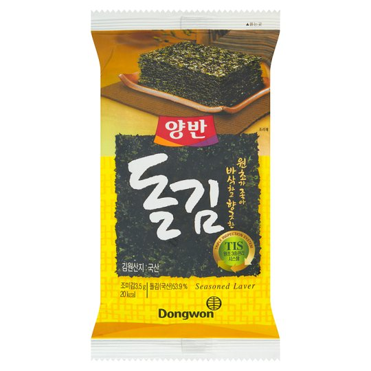 Dongwon Dried Roasted Nori Algae 3.5 g