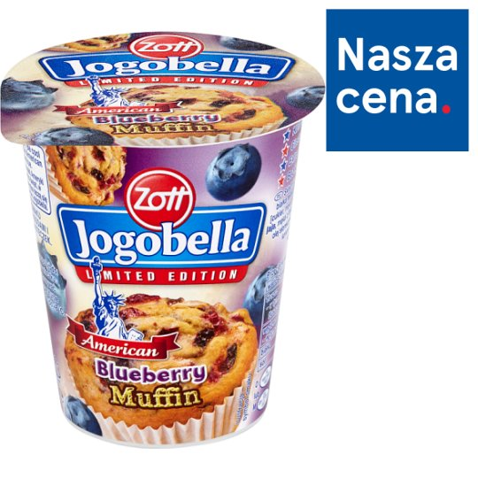 Zott Jogobella American Blueberry Muffin Yoghurt 150 g
