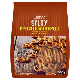 Tesco Salty Pretzels with Spelt 100 g