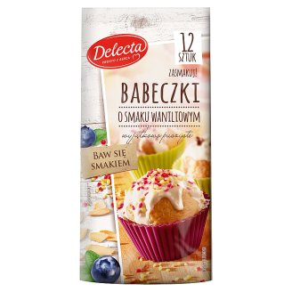 Delecta Cupcakes with Vanilla Flavour 265 g