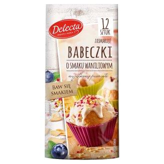Delecta Babeczki o smaku waniliowym 265 g