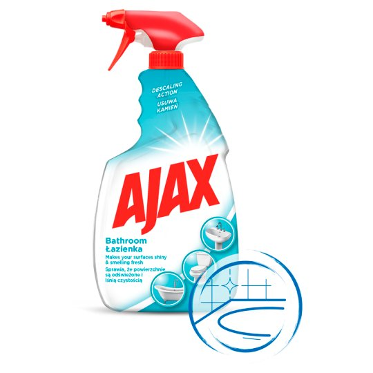Ajax Bathroom Cleaner 750 Ml Tesco