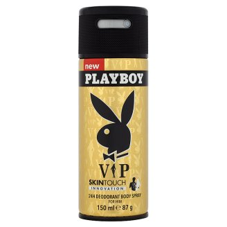 Playboy VIP 24H Deodorant Body Spray for Him 150 ml