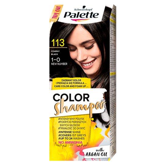 Palette Color Shampoo Coloring Shampoo Black 113