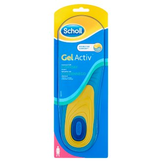 Scholl GelActiv Women's Insoles for Everyday Schoes Size 35,5-40,5