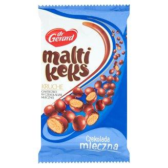 dr Gerard MaltiKeks Crispy Cookies with Milk Chocolate Coating 350 g