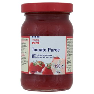 Tesco Value Koncentrat pomidorowy 190 g