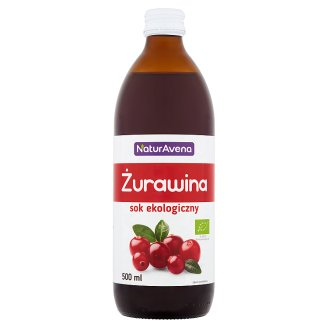 NaturAvena Cranberry Organic Juice 500 ml