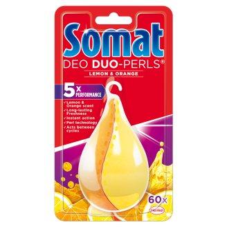 Somat Deo Duo-Perls Odświeżacz do zmywarek cytrynowo-pomarańczowy 17 g