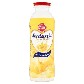 Zott Serduszko Vanilla Flavour Delicious Milk 250 ml