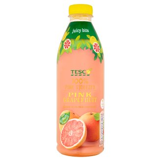 Tesco 100% Pure Squeezed Pink Grapefruit Juice Never from Concentrate 1 L