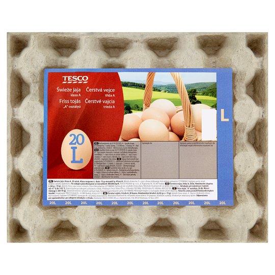 Tesco Fresh Eggs L 20 Pieces