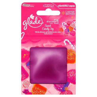 Glade Discreet Sweet Candy Joy Air Freshener Refill 8 g