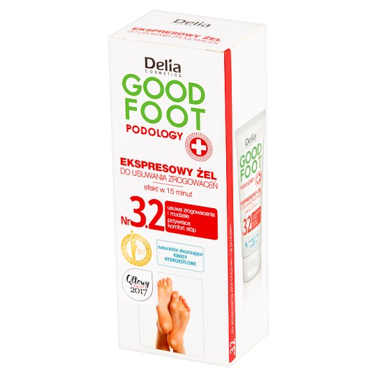 Delia Cosmetics Good Foot Podology Express Gel to Remove Hard Skin 60 ml