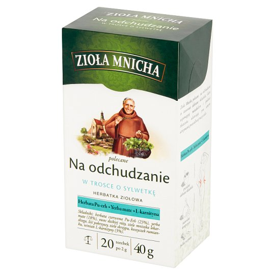 Big-Active Zioła Mnicha Slimming Herbal Tea 40 g (20 x 2 g)