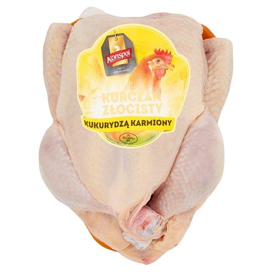 Konspol Kurczak złocisty kukurydzą karmiony Tuszka z kurczaka bez podrobów