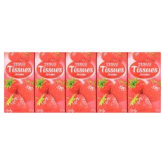 Tesco Chusteczki higieniczne zapachowe 3-warstwowe 10 x 10 sztuk