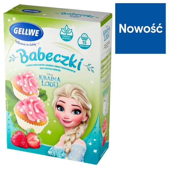 Gellwe Disney Princess Cupcakes with Princesses Pearls 237 g