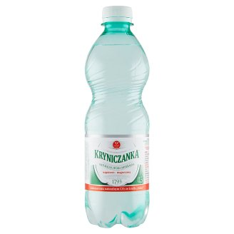 Kryniczanka Lightly Sparkling Natural Water 0.5 L