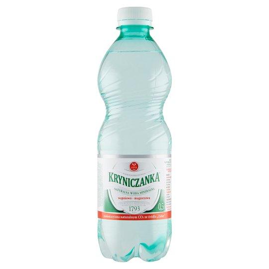 Kryniczanka Naturalna woda mineralna niskonasycona CO2 0,5 l