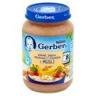 Gerber Banany jabłka truskawki z jogurtem i musli po 8 miesiącu 190 g