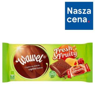 Wawel Fresh & Fruity Czekolada mleczna z galaretką 100 g