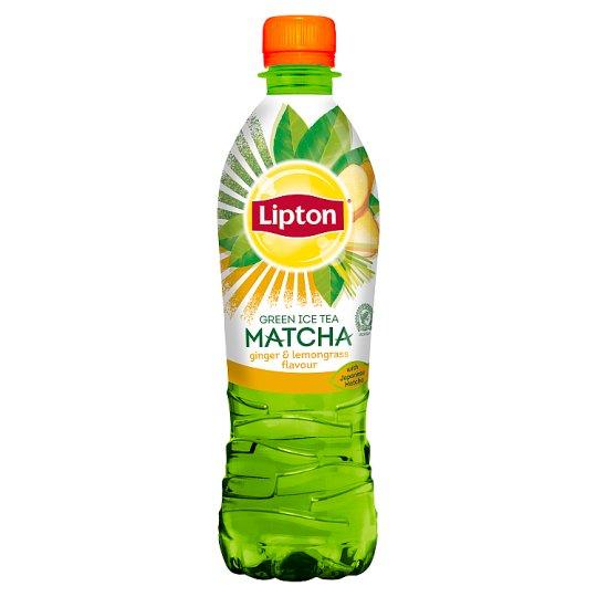 Lipton Ice Tea Green Matcha ginger & lemongrass Napój niegazowany 500 ml