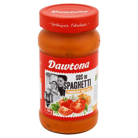 Dawtona Tomato and Cream Spaghetti Sauce 550 g
