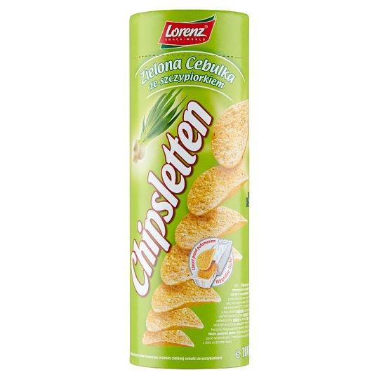 Chipsletten Zielona cebulka ze szczypiorkiem Chipsy ziemniaczane 100 g