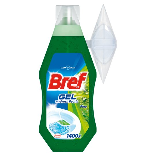 Bref WC Gel with Fresh Pearls Pine 360 ml