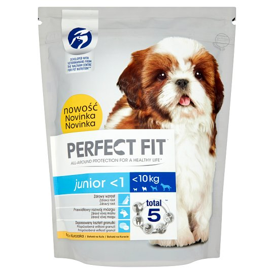 Perfect Fit Junior <1 <10 kg Karma pełnoporcjowa dla szczeniąt 825 g