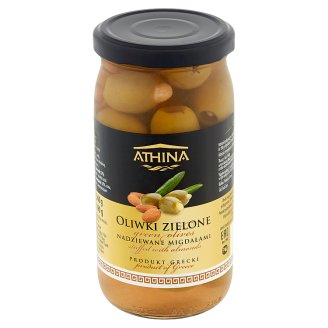 Athina Green Olives Stuffed with Almonds 360 g