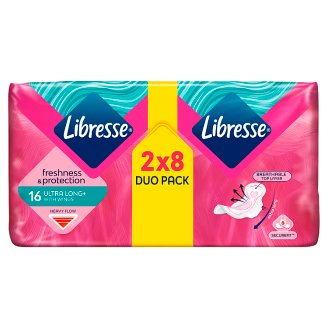 Libresse Ultra Wing Super Duo Pack Sanitary Towel 16 Pieces