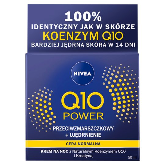 NIVEA Q10 Power Anti-Wrinkle + Firming Regenerating Night Cream 50 ml