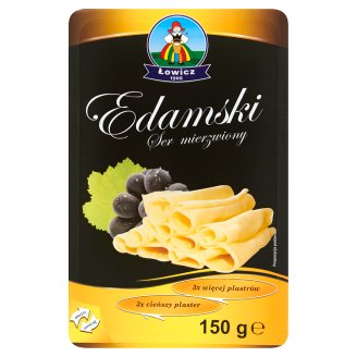 Łowicz Edamski Ruffled Cheese 150 g