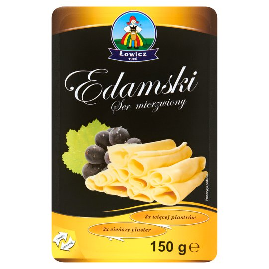 Łowicz Edamski Ruffled Cheese 150 g