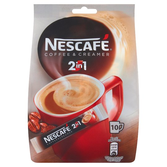 Nescafé Coffee & Creamer 2in1 Coffee Drink 8 g (10 Sachets)