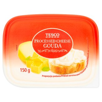 Tesco Gouda Processed Cheese 150 g