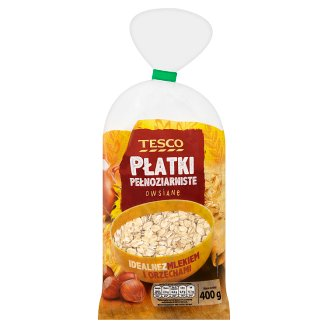 Tesco Wholemeal Rolled Oats Flakes 400 g
