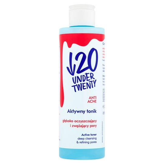 Under Twenty Anti Acne Active Toner Deep Cleansing & Refining Pores 200 ml
