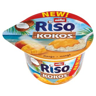 Müller Riso Coconut Mango Milk Rice Dessert 200 g