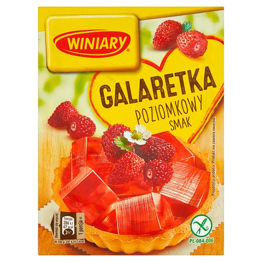 Winiary Wild Strawberry Flavoured Jelly 71 g