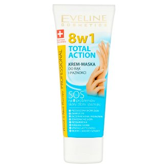 Eveline Cosmetics Hand & Nail Therapy Professional 8in1 Hand and Nails Mask-Cream 75 ml