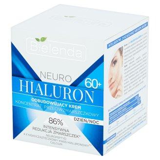 Bielenda Neuro Hialuron 60+ Koncentrat przeciwzmarszczkowy odbudowujący krem na dzień noc 50 ml
