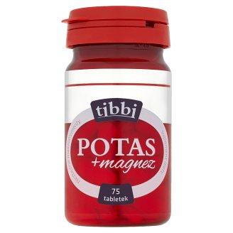 Tibbi Potas + magnez Suplement diety 60 g (75 tabletek)