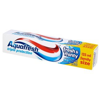 Aquafresh 3 Triple Protection Fresh and Minty Pasta do zębów 125 ml