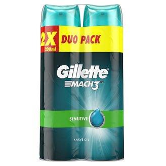 Gillette Series Sensitive Men's Shaving Gel 2x200ml
