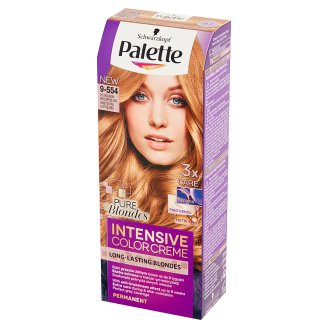 Palette Intensive Color Creme Pure Blondes Hair Colorant Honey Extra Light Blonde 9-554