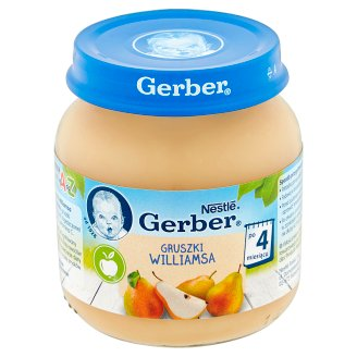 Gerber Williams Pears after 4 Months Onwards 125 g